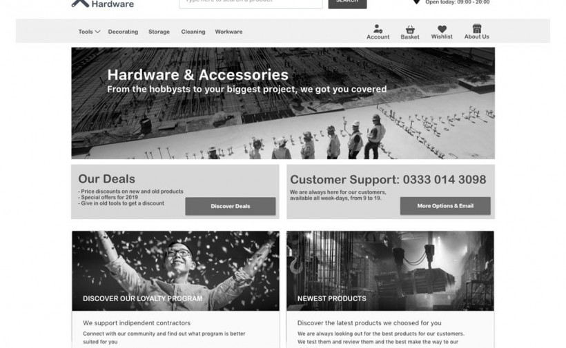 Progress Hardware eCommerce